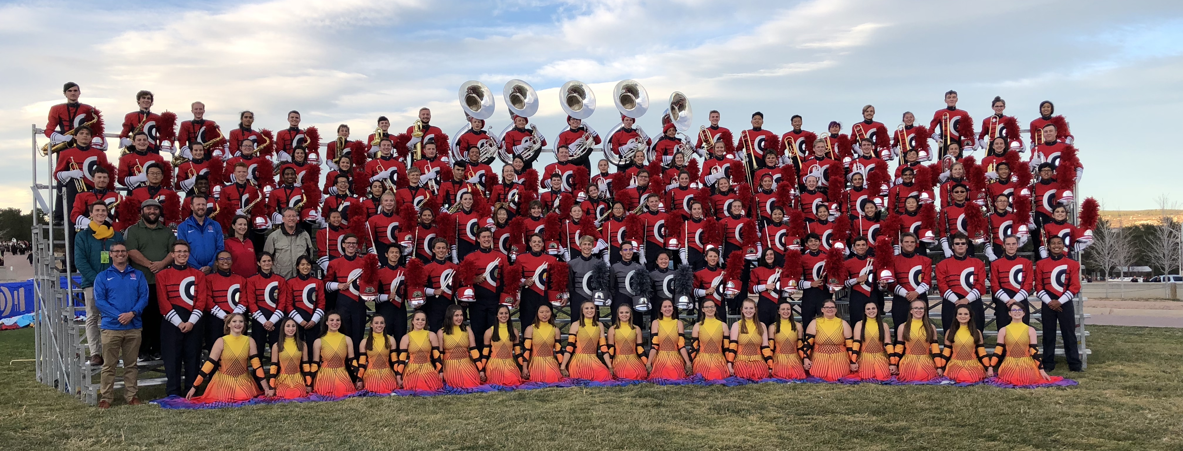 CCHS Marching Band 2016